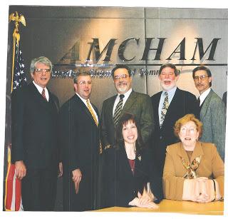 AmCham Board 1999