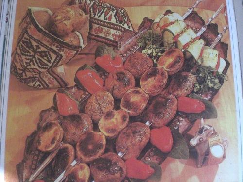 Azerbaijan Kebobs, Shaslik- a favorite meal