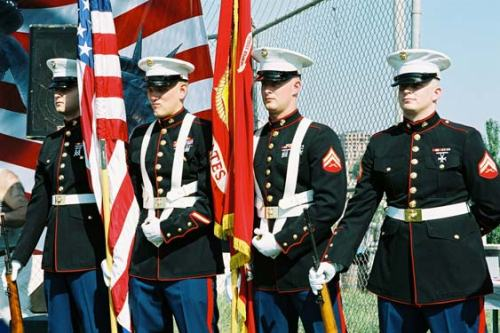 US Embassy Baku Marine Honor Guard