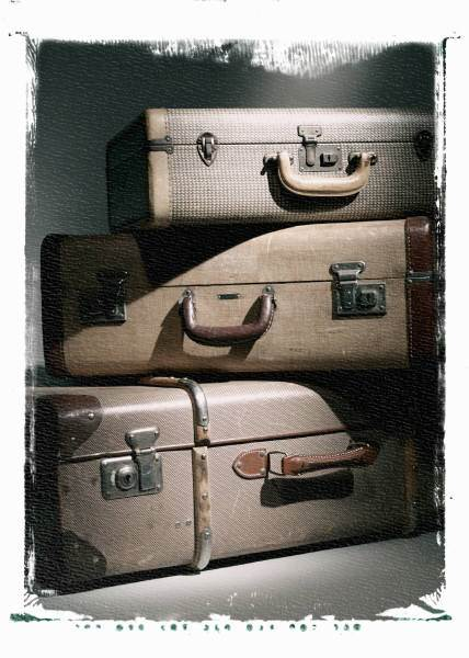 "Suitcases: How Do You Deal With the News, ""We're Moving... Again""?"