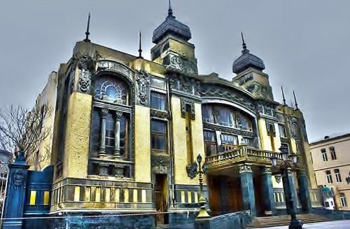 ExPat Adventure- Act 1: The Opera and Ballet Theatre - Baku Azerbaijan