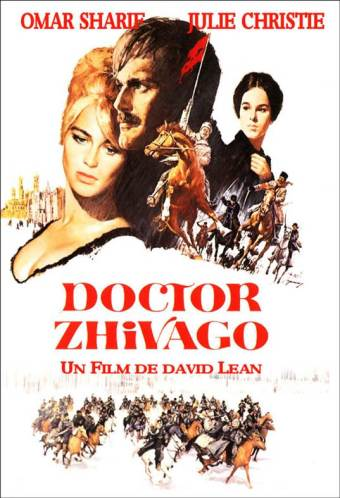 Doctor Zhivago movie poster: Sure, this is what Russia is REALLY like...