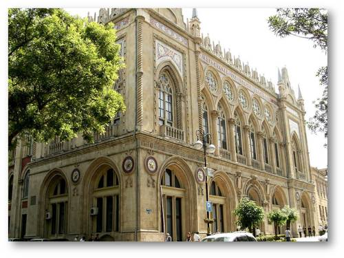 Academy of Science (Ismailiyye Palace) Baku... Beauty that has stood the test and strains of time