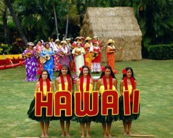 Hawai'ian welcome with Hula Dancers
