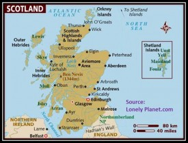 ExPat Identity: Scotland Map, A Key to Myself