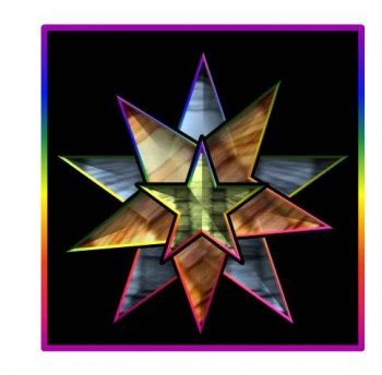Multi-Cultural ExPat Experiences Create Stained Glass 'Stars""