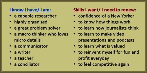 Ex-Pat Skills List