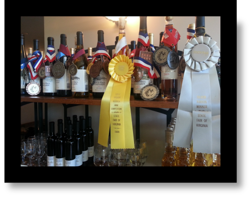 Virginia Wine Medals and awards: Can Third World Wines Compete