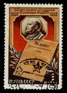 Old Soviet Stamp, Stalin