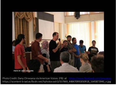 Teaching music is a global diplomacy tool- American Voices Music