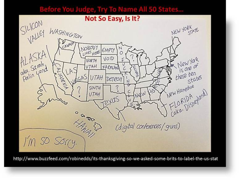 Brits Do America Proud: map of America with misnamed states