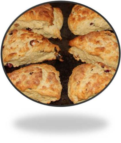 Scones, a measure of customs and traditions for Expats:  Circles or Triangles? Sweet or Savory?