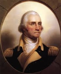 Picture of George Washington, 1st US president