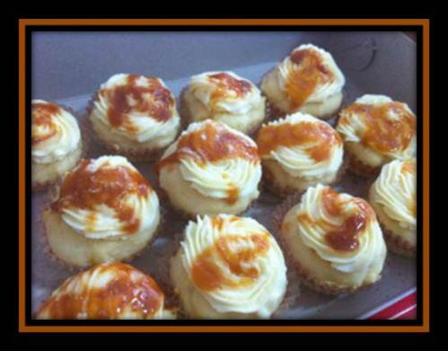 A Few Bites of Heaven!Photo Recipe For  Salted Caramel cupcakes