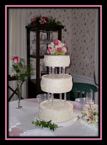 Wedding Cake, multi-tiered