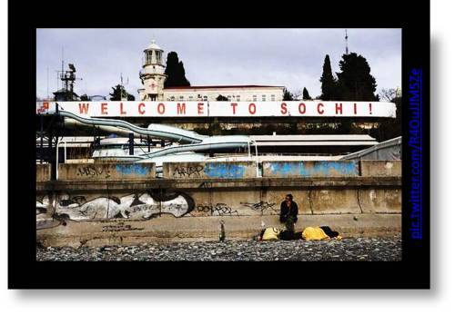Welcome To Sochi Picture of derelict airport