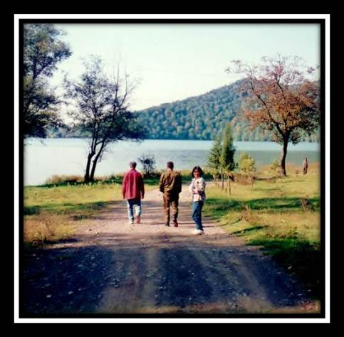 Photo of people walking down a dirt road... Where Does the Road To The Future Lead?