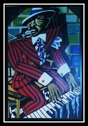Jazz Art Painting- Carolina Low Country
