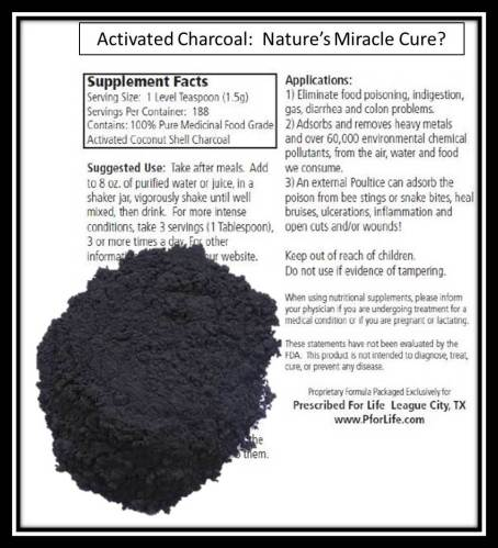 Activated Charcoal: Nature's Miracle for travelers?
