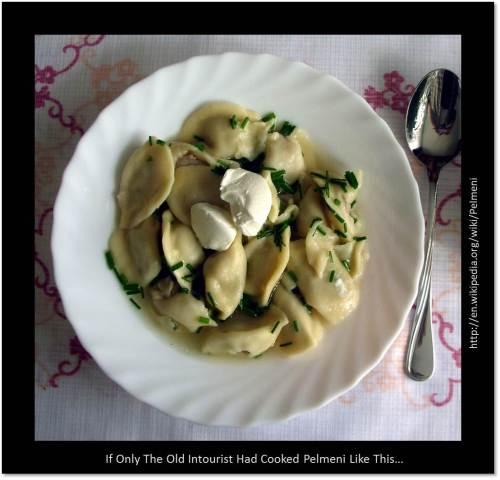 Expatriate food source: Russian dumplings photo