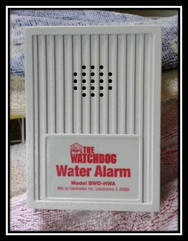 Simple Battery Operated Flooding Alarm