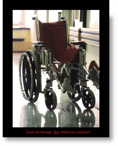 Photo of Access via Wheelchair, understanding disability and access issues.