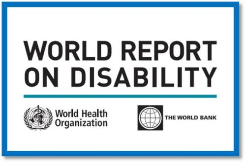 Logo for WHO/World Bank report on Disability 2011