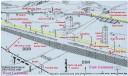 Berlin Wall fortification diagram
