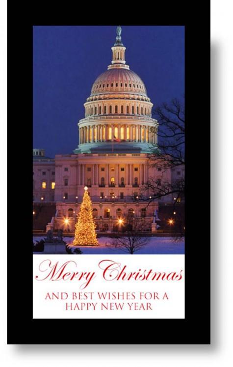Happy Holidays White House photo