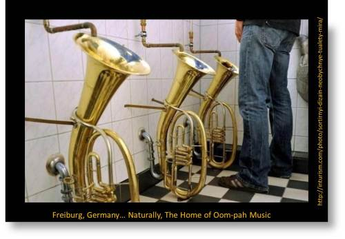 photo image of German tuba toilet