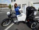 Photo of Toto Neo (Japanese Toilet Mfg) unveils a biogas powered toilet motocycle