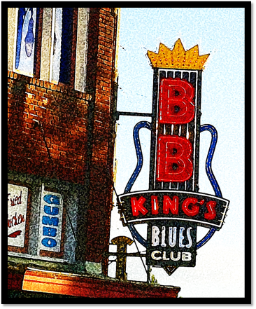 The late B B King epitomized the Memphis sound of R&B