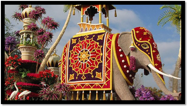 2016 Pasadena Tournament of Roses Image - United Sikh Mission float